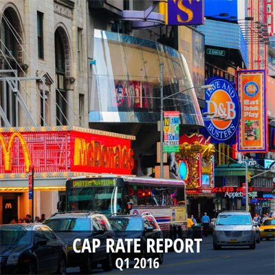 Cap Rate Report Q1 2016