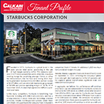 Tenant Profile – Starbucks