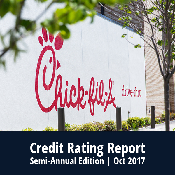 Credit Rating Report – October 2017