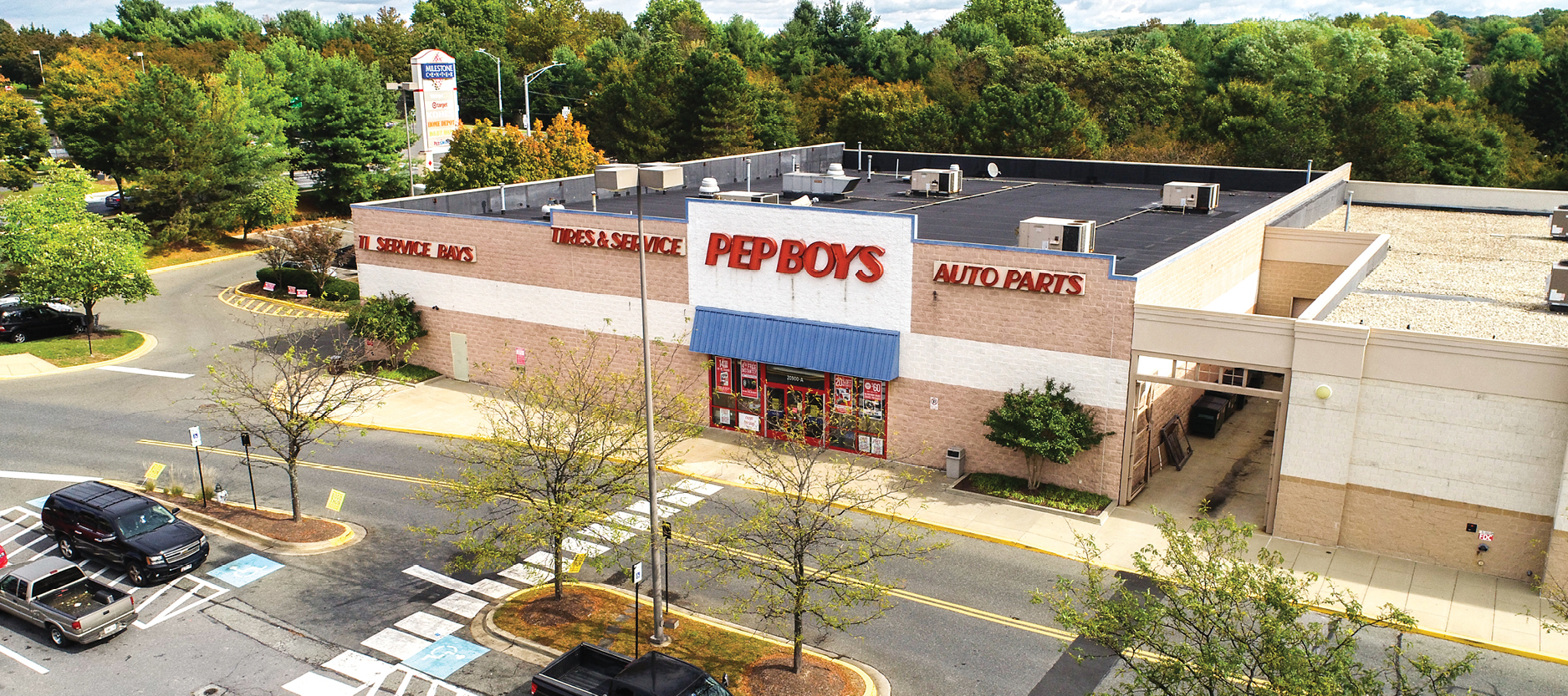 Calkain's Fernandez Arranges $7.6M Sale of  NNN Pep Boys on Short-Term Lease